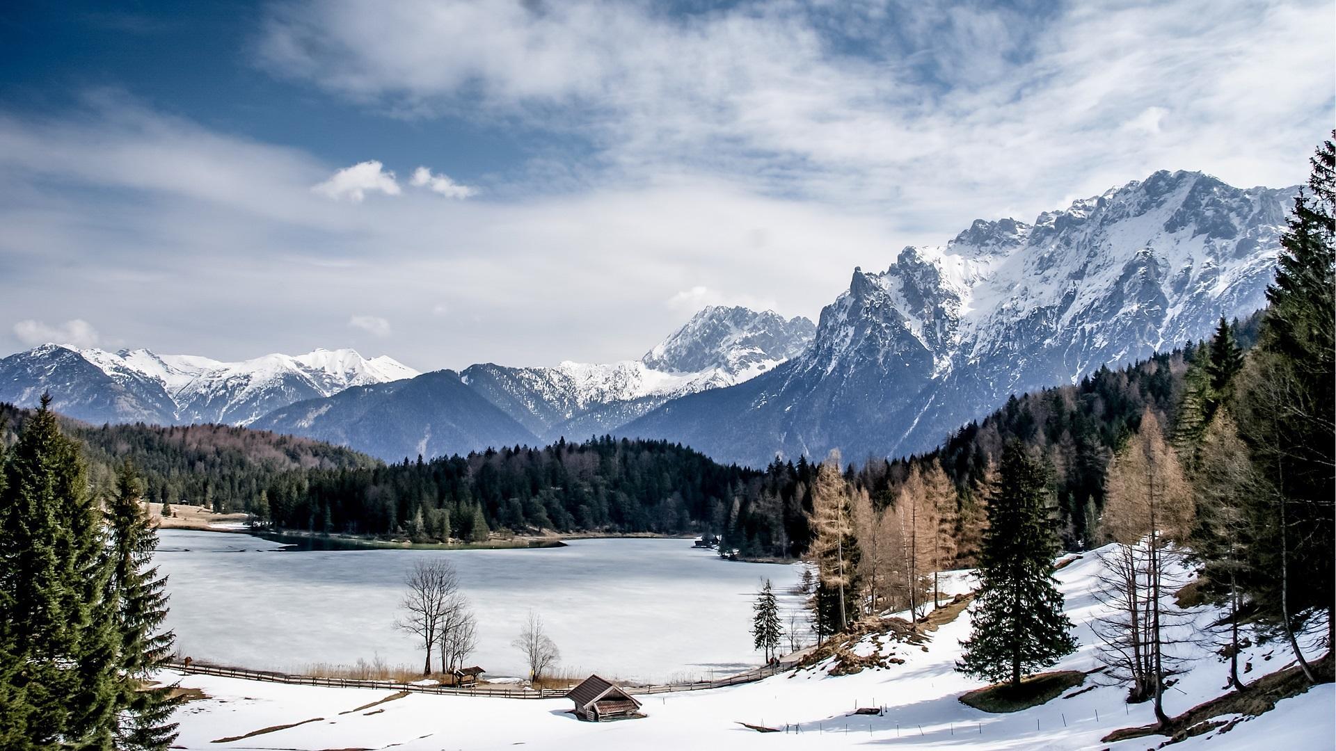 Winter im Hotel im Mittenwald