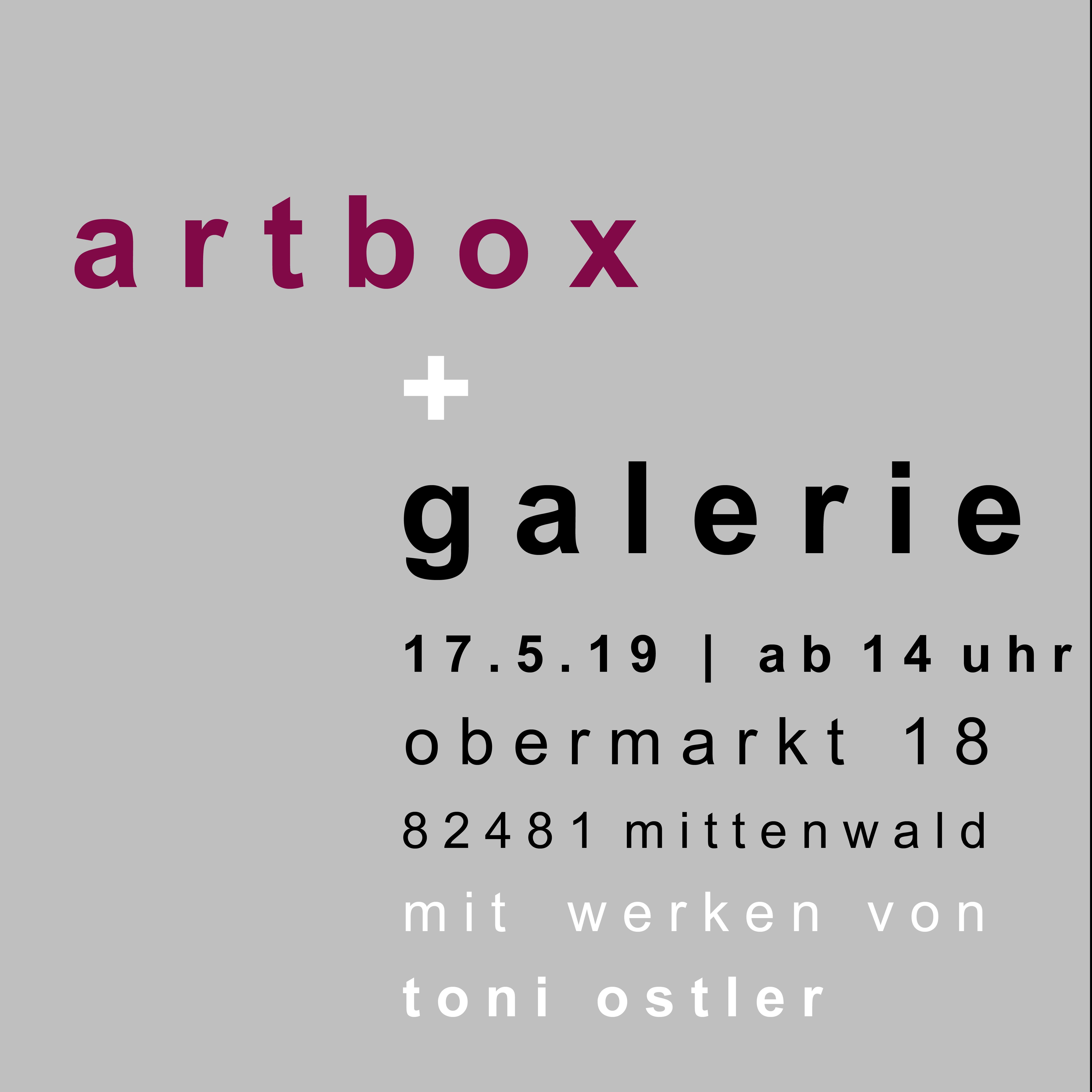 Eröffnung der Artbox & Lifestyle Galerie